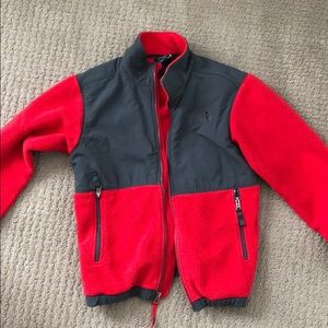 NORTH FACE Fleece Red Size: 10/12